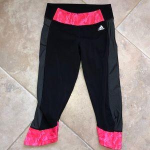Women's Adidas Climalite crop leggings S